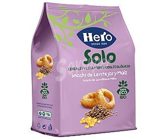 Hero Baby Solo Snacks de lentejas y maíz desde 10 meses ecológico Hero Solo 50 g
