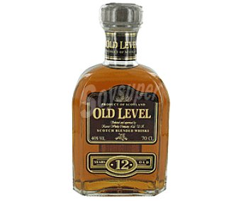 Old Level Blended Whisky Escocés Reserva 12 Años Botella 70 Centilitros