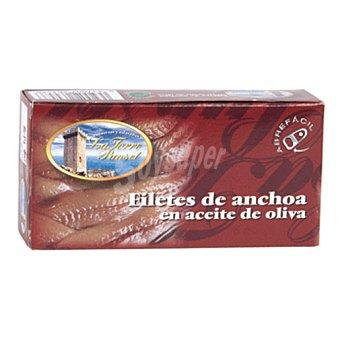 LA TORRE PUNSET Filetes de anchoa en aceite de oliva lata 30g neto escurrido