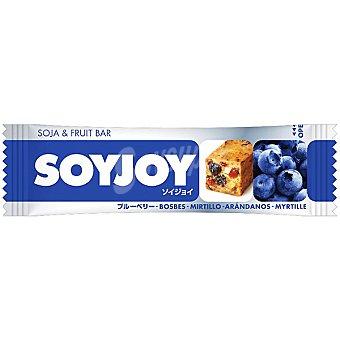 SOYJOY Soja & Fruit Bar Barrita snack de soja y fruta natural sabor arándanos Envase 30 g