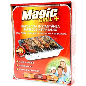Magic Grill barbacoa un solo uso 1 Unidad