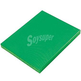 CASACTUAL Tabla de cortar verduras en color verde 32 x 26 x 3 cm 1 Unidad