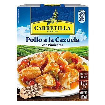 Carretilla Pollo a la cazuela con pimientos Caja 250 g