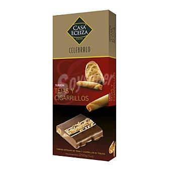 Casa Eceiza Turrón de Tejas y Cigarrillos 200 g