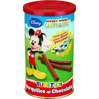 ANTIU XIXONA Disney Tubettos Barquillos de chocolate bote 150 g Bote 150 g