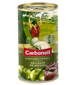 Carbonell Aceitunas rellenas de anchoa 150 g
