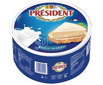 President Queso fundido en porciones Caja 24 Unidades (375 Gramos)