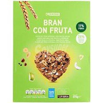 Eroski Cereales bran con fruta Caja 375 g