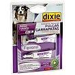 Tratamiento prevención para perros grandes de 20-40 kg contra garrapatas y pulgas Envase 2 unidades Dixie