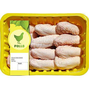 Sada Alas enteras de pollo formato ahorro peso aproximado Bandeja 1,2 kg