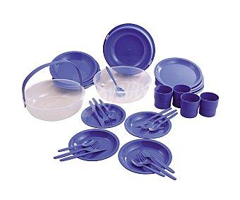Curver Set de camping fabricado en plástico azul curver