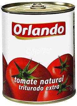 Orlando Tomate natural triturado extra Lata 810 g