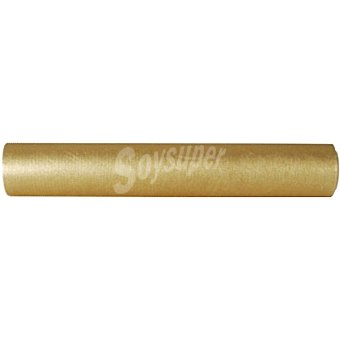 Papstar Mantel camino de mesa oro 4,8 x 0,40 m 1 unidad