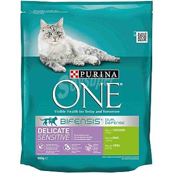 One Purina Digestión sensible para gato Paquete 800 g