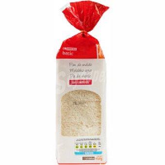 Eroski Basic Pan de molde sin corteza Paquete 450 g