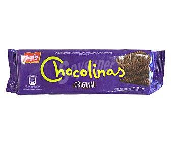 Bagley Galletas dulces sabor chocolate chocolinas G