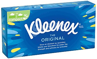 Kleenex Pañuelos blancos Caja 70 unidades