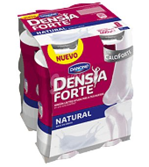 Danone - Densia Yogur líquido natural Forte Danone pack de 4x100 ml