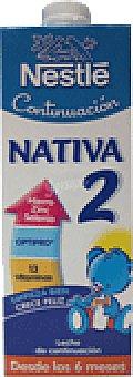 Nativa Nestlé Leche líquida Continuación 2 1 LTS