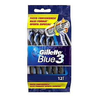Gillette-Blue 3 Maquinilla desechable 12 ud