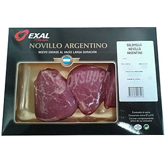 EXAL Solomillo de novillo argentino Envase 250 g (2 unidades)