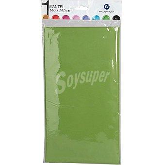 NV CORPORACION Mantel individual color verde 140X260 cm