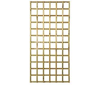 FOREST Celosia sin marco de madera de pino de con malla de 11.2x11,7 centímetros y tamño total de 180x88.5 centímetros 1 unidad