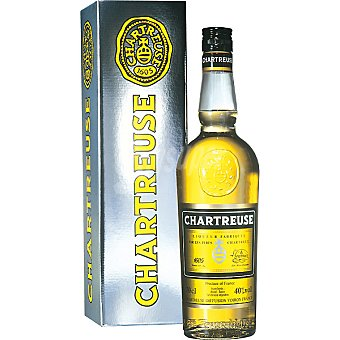 Chartreuse Licor amarillo Botella 70 cl