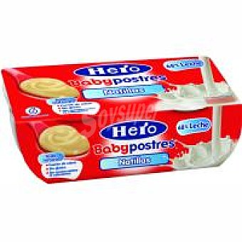 Hero Natillas Pack 2x130 g