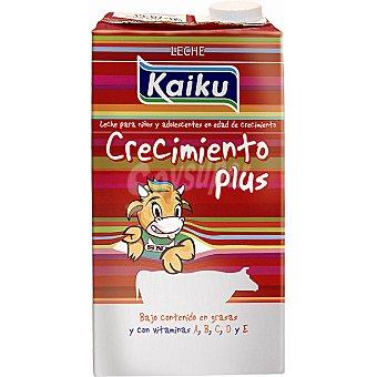 Kaiku Leche Semidesnatada Energía-Crecimiento Brik 1 litro