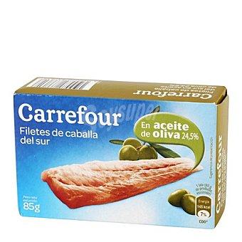 Carrefour Filete de caballa del sur en aceite de oliva 85 g
