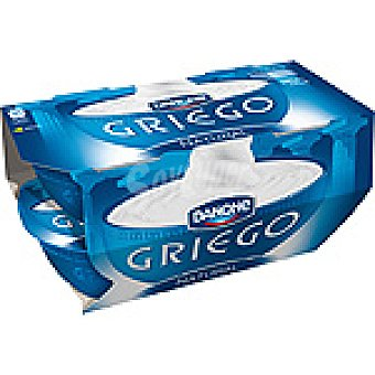 Griego Danone Yogur griego natural Pack 4 unidades 125 g