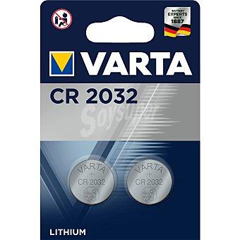 Varta Pila botón CR2032 Blíster 2 u
