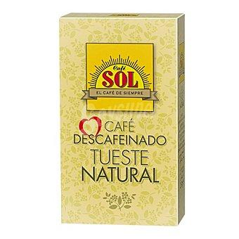 Tirma Café molido descafeinado natural sol 250 g