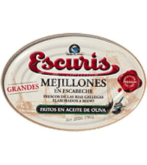 ESCURIS Mejillones escabeche rias gallegas 216 g