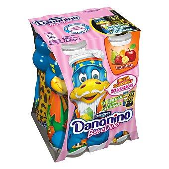 Danonino Danone Yogur líquido Tutti-Frutti 4 ud