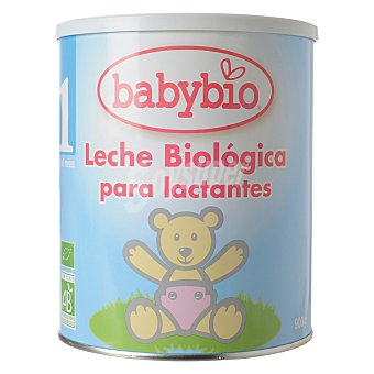 BabyBio Leche 1 para lactantes en polvo Biológica Lata 900 g