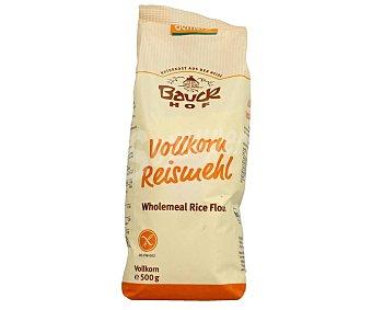 Harina de arroz sin gluten bauckhof 500 gr