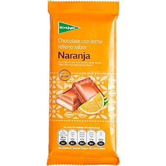 Aliada Chocolate con leche relleno sabor naranja Tableta 100 g
