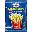 Patatas fritas burger extra crujientes Bolsa 95 g Vicente Vidal