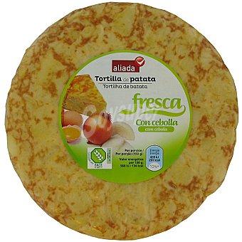 Aliada Tortilla fresca de patata con cebolla Envase 600 g