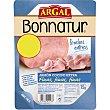 jamón cocido en lonchas finas envase 80 g Bonnatur Argal