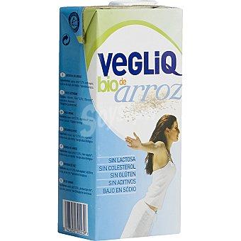 VEGLIQ Bebida de arroz ecológica Envase 1 l