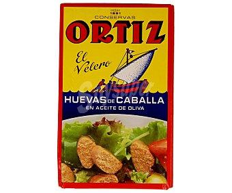 Ortiz Huevas de caballa en aceite de oliva 80 gramos