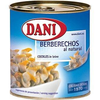 Dani Berberechos mini al natural Lata 90 g