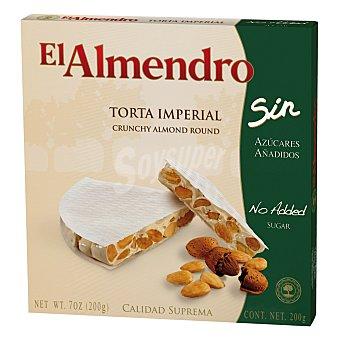 El Almendro Torta imperial sin azúcares 200 g