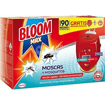 Bloom Max insecticida volador electrico moscas y mosquitos aparato + recambio