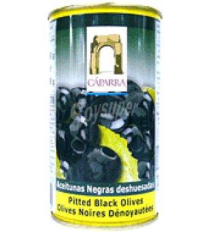 Cáparra Aceitunas negras deshuesadas 150 g