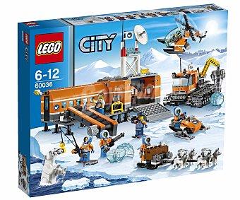 LEGO Juego de Construcción Campamento Base Ártico, Modelo 60036 1 Unidad