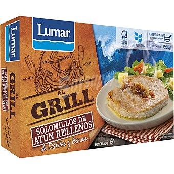 LUMAR Solomillos de atún rellenos de dátiles y bacon Estuche 225 g
